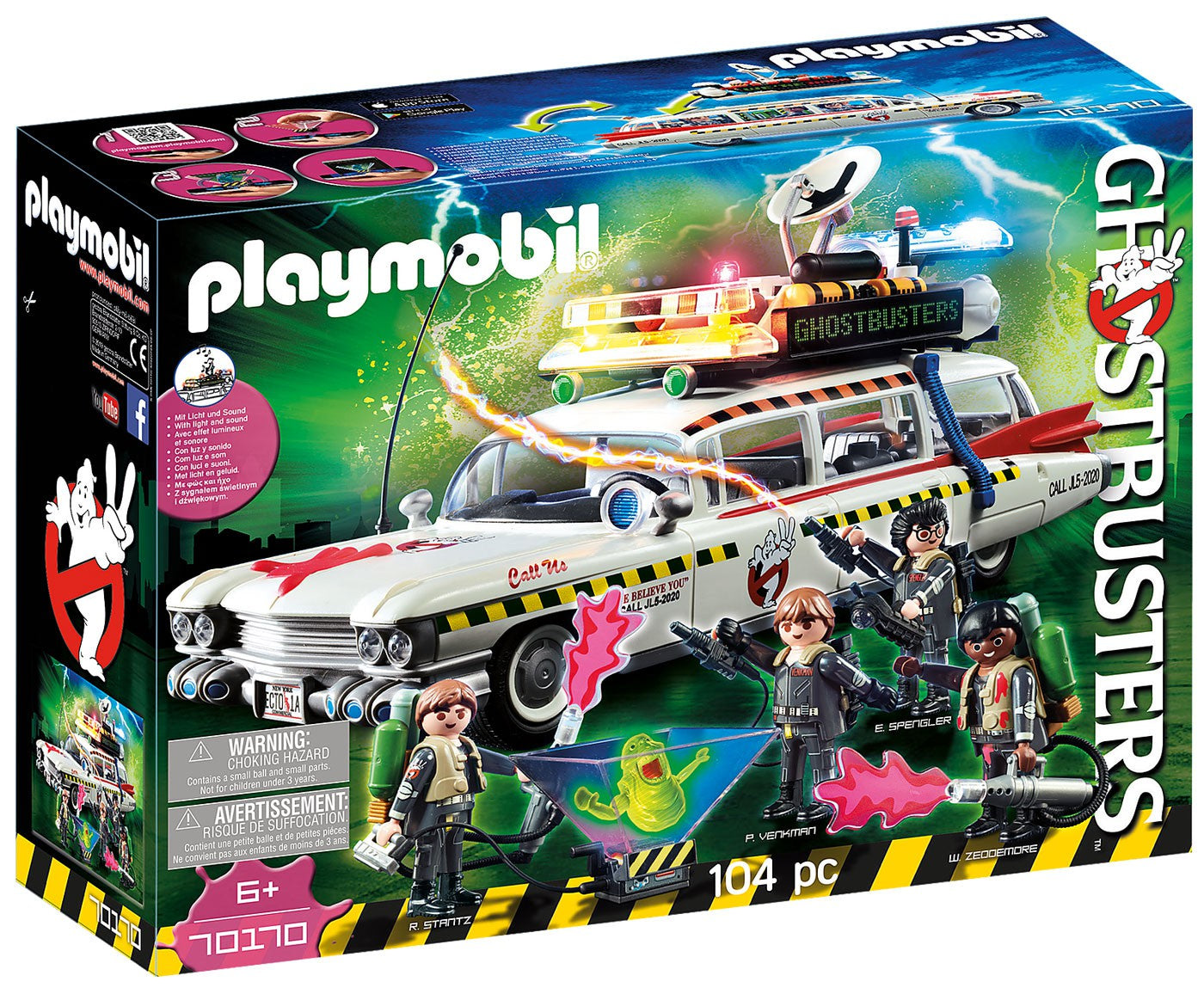 Playmobil Ghostbusters Ecto-1A