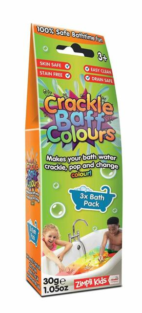 Make Your Bath Water Crackle