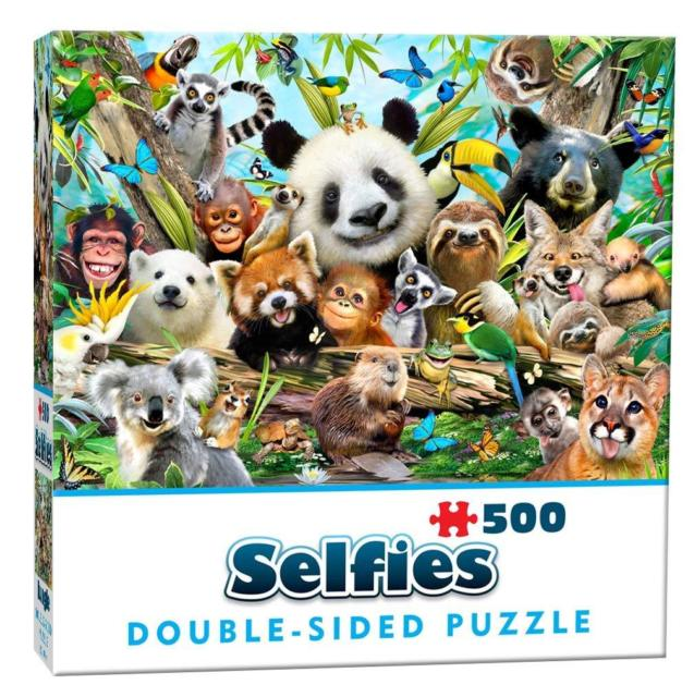 Double-Sided Selfie - Jungle