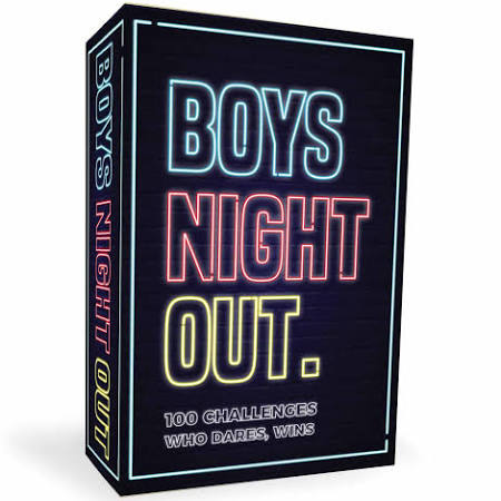 GIFT Republic boys night out. 100 challenges who dares, wins