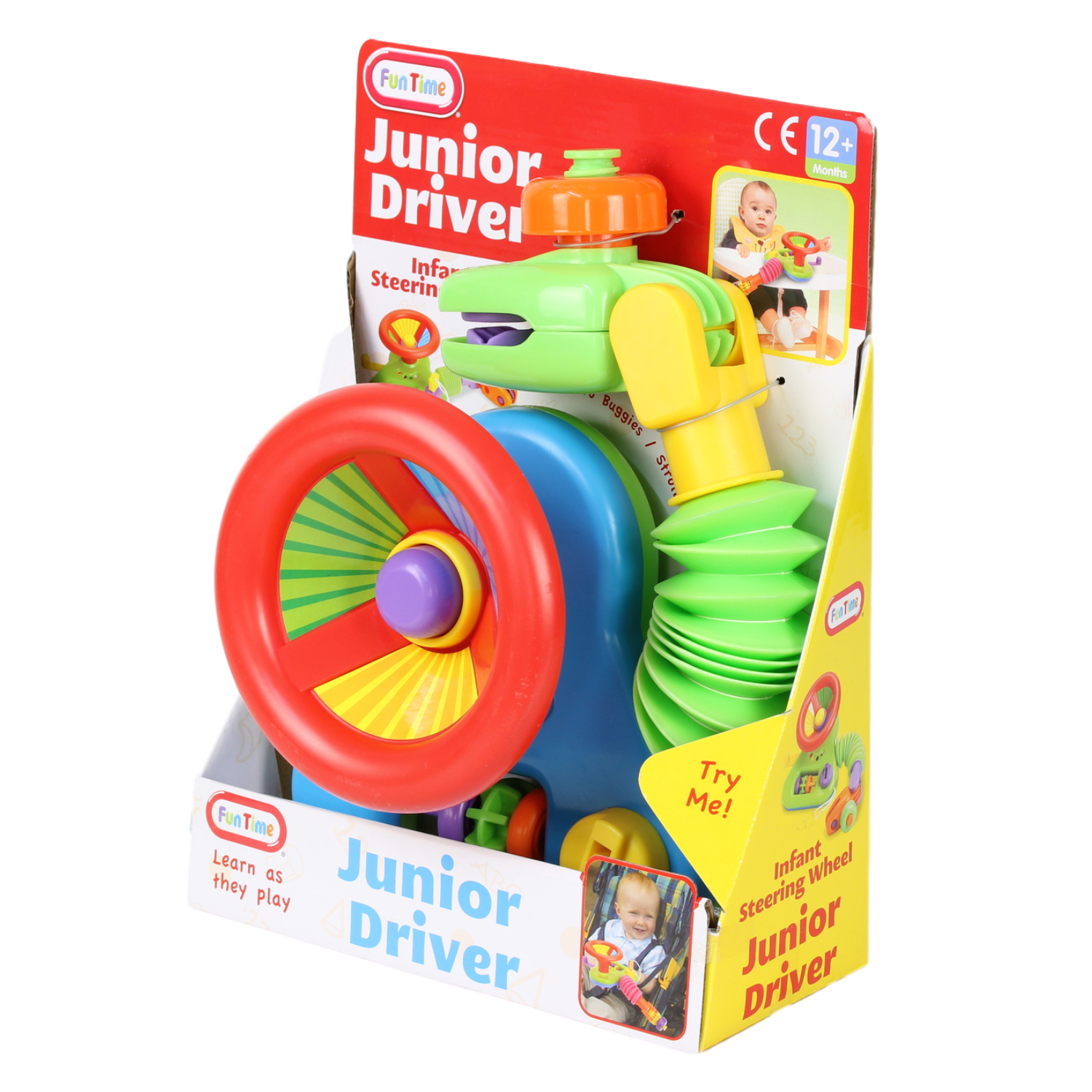 A to Z Junior Driver Buggy Toy