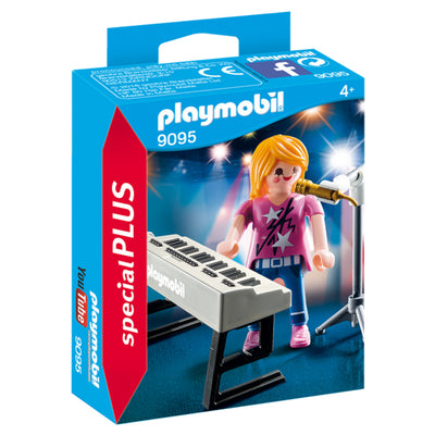 Playmobil Special Plus Singer with Keyboard