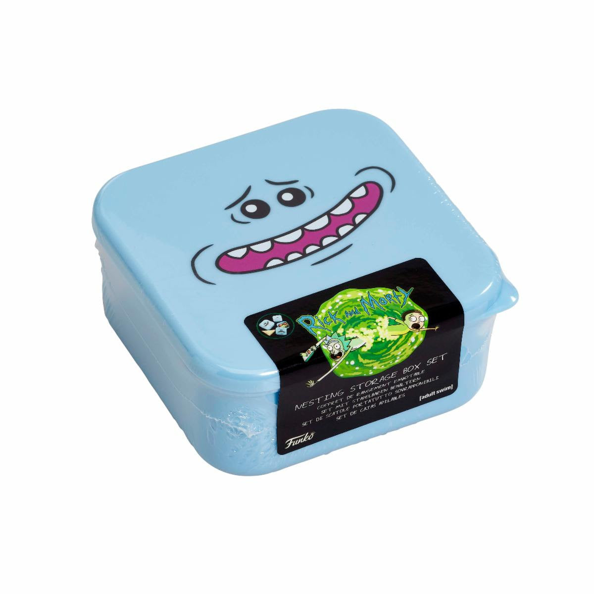 Rick & Morty: Plastic Storage Set: Mr. Meeseeks