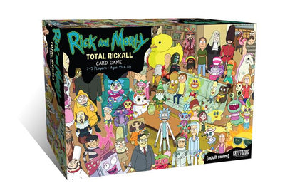 Rick and Morty Cooperative card Game Total Rickall