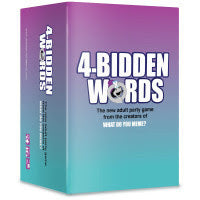4 Bidden Words Adult Party Game