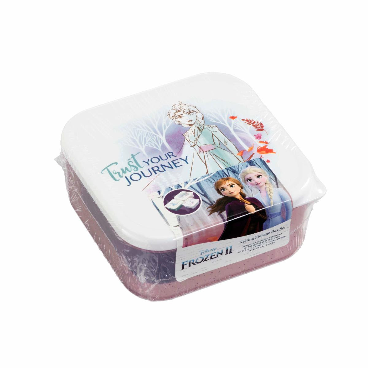 Frozen Fearless Range: Plastic Storage Set: Trust Your Journey