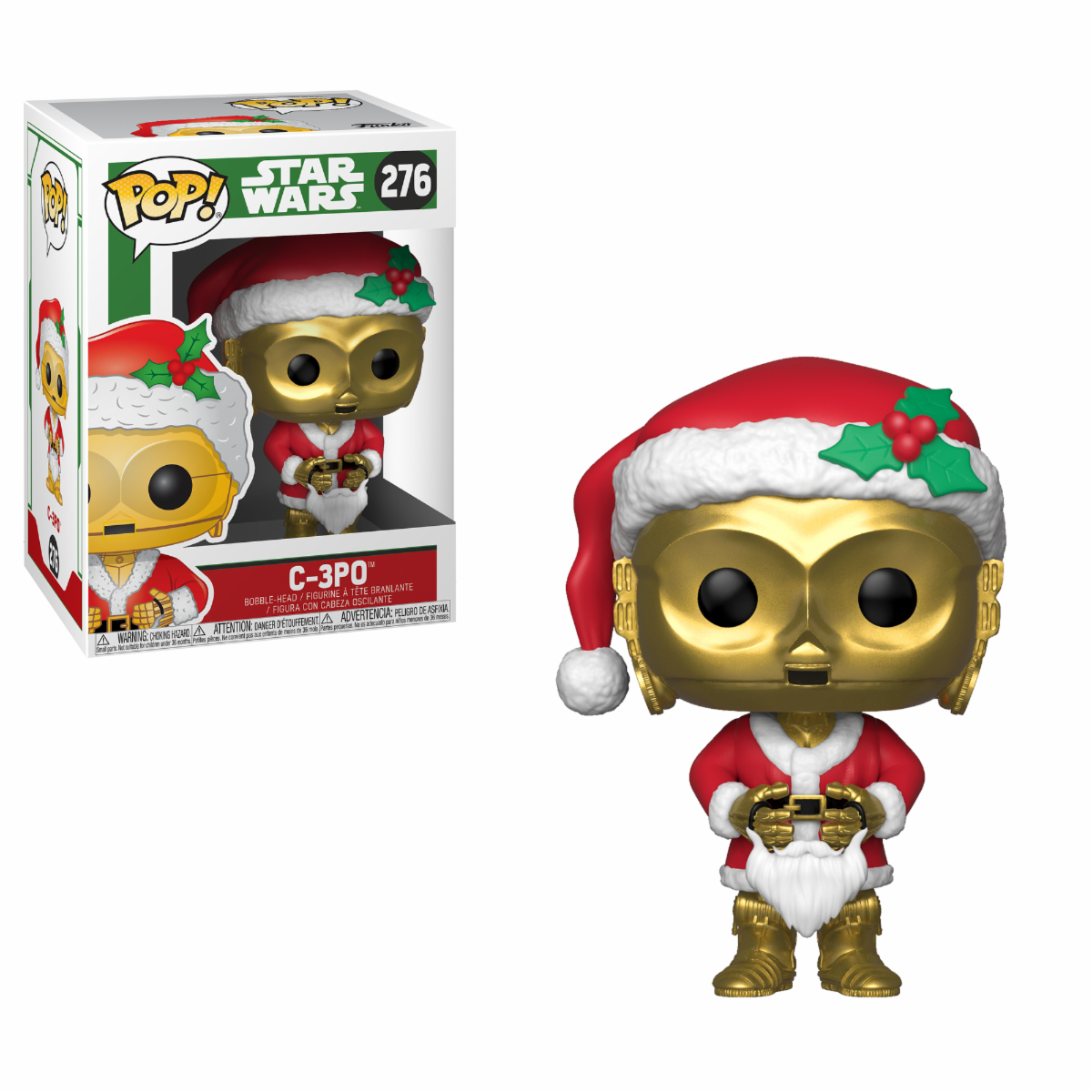 POP Star Wars: Holiday - C-3PO as Santa