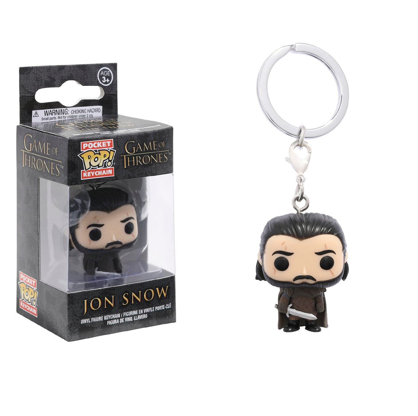 Funko Pocket POP! Keychain: Game of Thrones: Jon Snow
