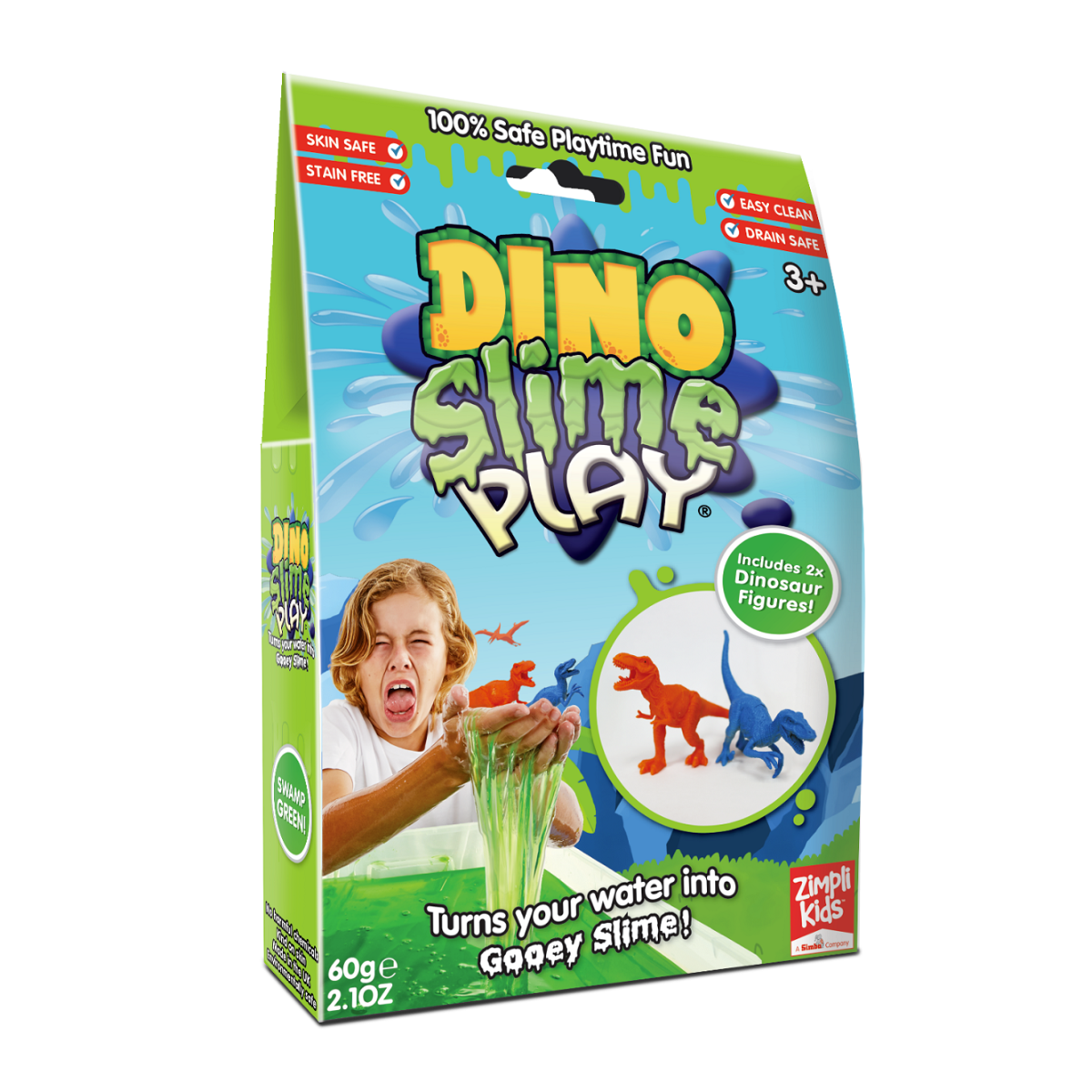 Zimpli Kids Dino Slime Play