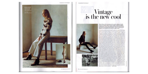 "Regina Romero/ Instyle ""Vintage is the new cool"""