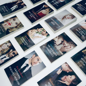 Modern series book subscription from Mills & Boon - romance book box subscription