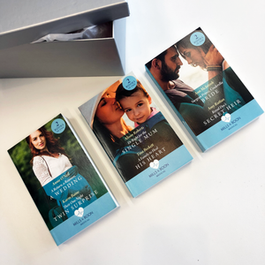 Medical series book subscription from Mills & Boon - romance book box subscription