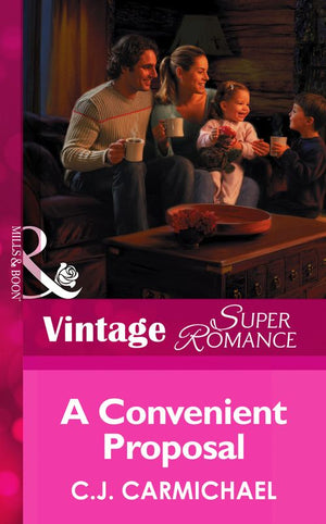 The Shannon Sisters - A convenient proposal (Mills & Boon Vintage Superromance) (The Shannon Sisters, Book 2): First edition
