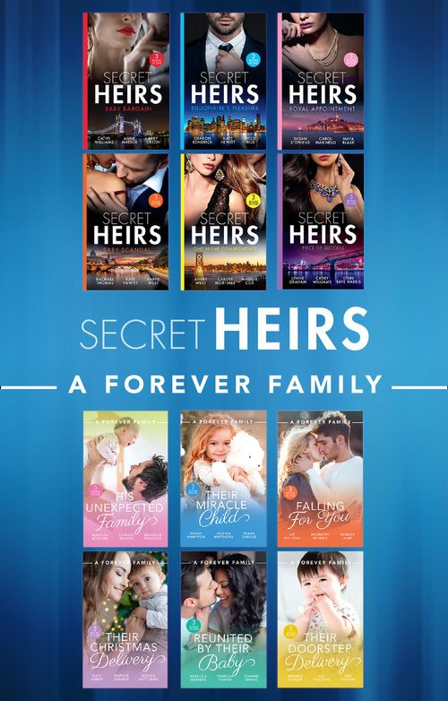 Secret Heirs And A Forever Family (Mills & Boon e-Book Collections)