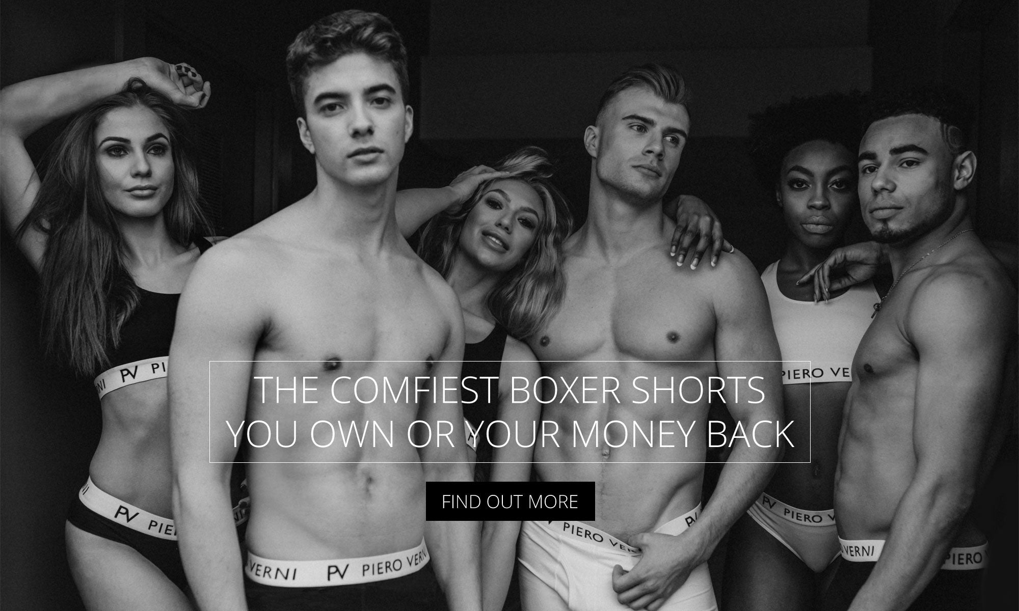 The comfiest boxer shorts you own or your money back - Find out more