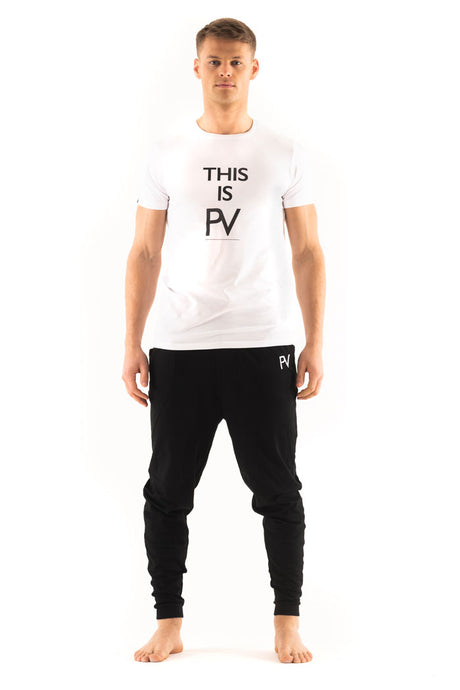 'This is PV' short sleeve & Drop crotch Loungewear set