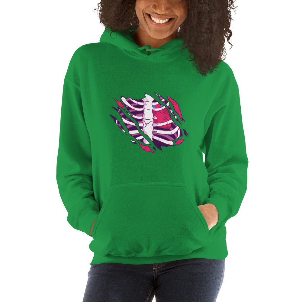 women zombie Hooded Sweatshirt