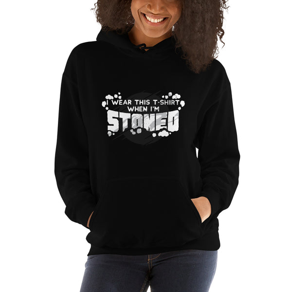 women stoned Hooded Sweatshirt