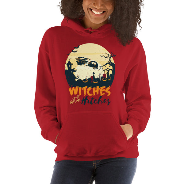 women witches with hitches Hooded Sweatshirt