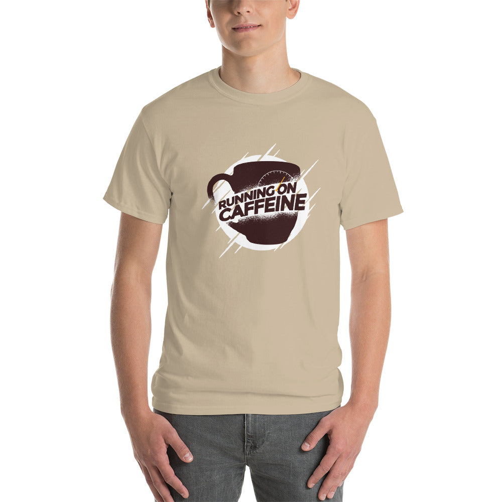 men running on caffeine Short-Sleeve T-Shirt