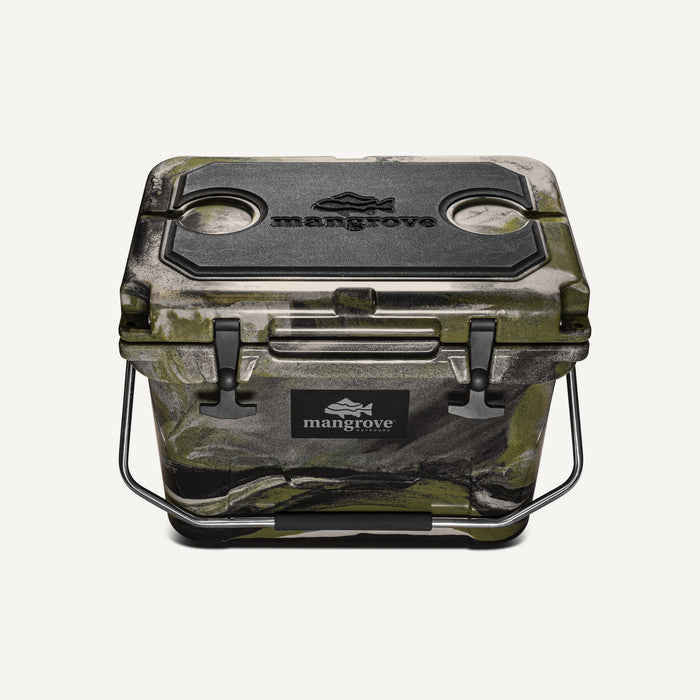 Mangrove Outdoors 20L Esky Seat, Cushion, Cooler, Icebox, Chilly-Bin, Camping, Fishing, Camo