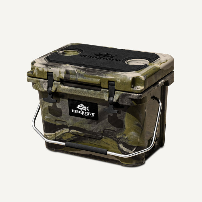 Mangrove Outdoors 20L Esky, Cooler, Icebox, Chilly-Bin, Camping, Fishing, Camo