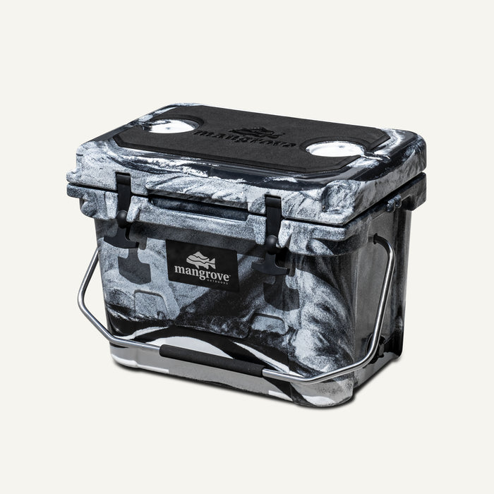 Mangrove Outdoors 20L Esky, Cooler, Icebox, Chilly-Bin, Camping, Fishing, Camo White