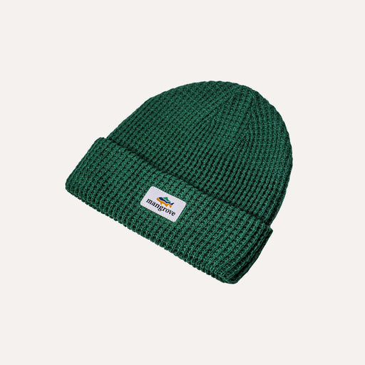 Classic Knit Beanie (Lake Green)
