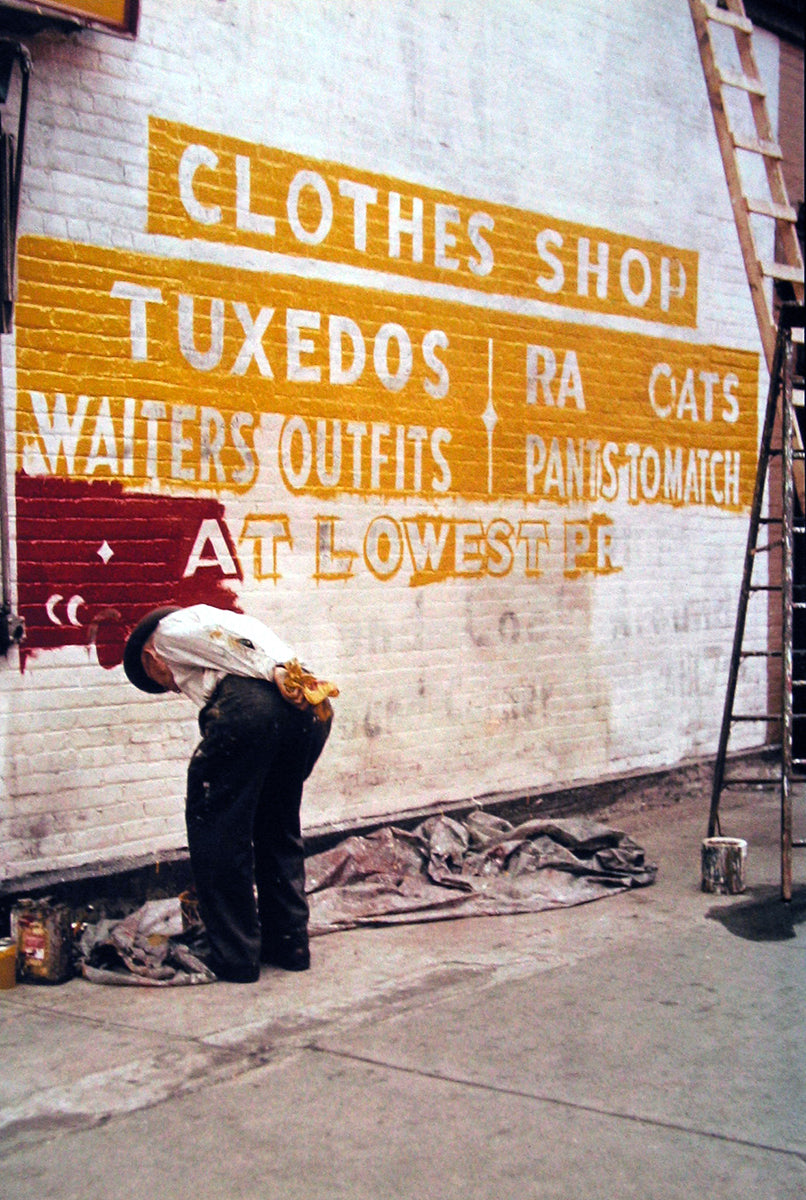 Sign Painter, 1954