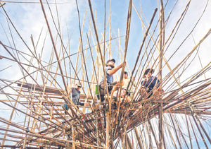 "Big Bambú: ""5,000 Arms to Hold You"", Jerusalem, 2015"