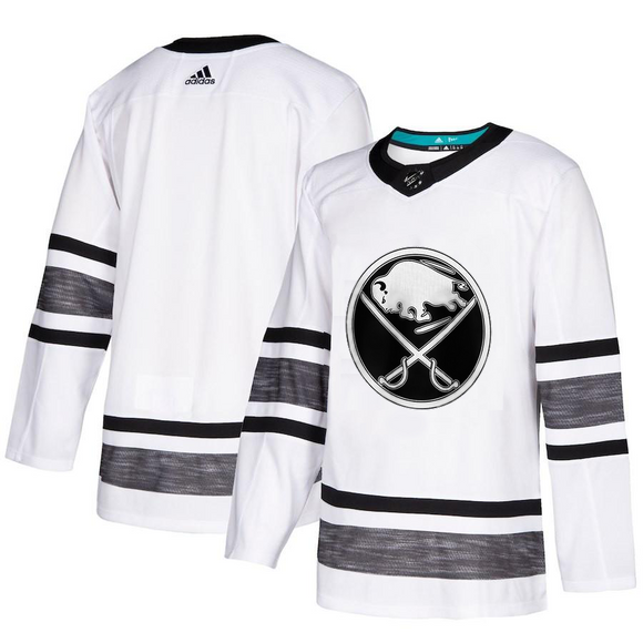 Custom - Sabres All Star Replica White Jersey – Blazejerseys 4ace8cbddc5