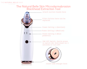 Natural Belle Skin Microdermabrasion Blackhead Pore Cleansing Tool