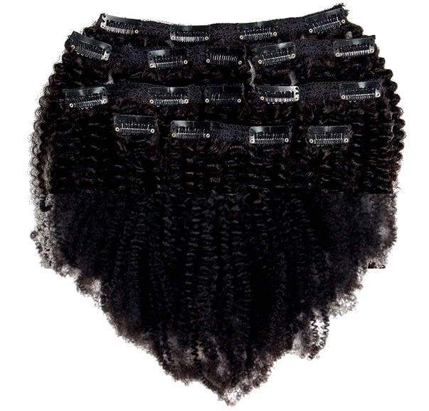 Afro Coily Clip Ins- 4b/ 4c