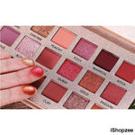 Beauty Glazed 18 Color Shining Eyeshadow Palette - iShopzee