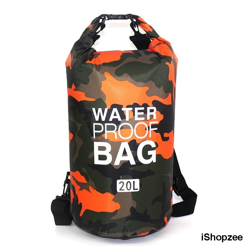 Camo 30L Waterproof Dry Bag - iShopzee