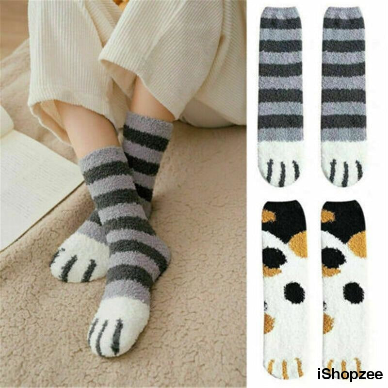 Cat Paw Indoor Socks - iShopzee