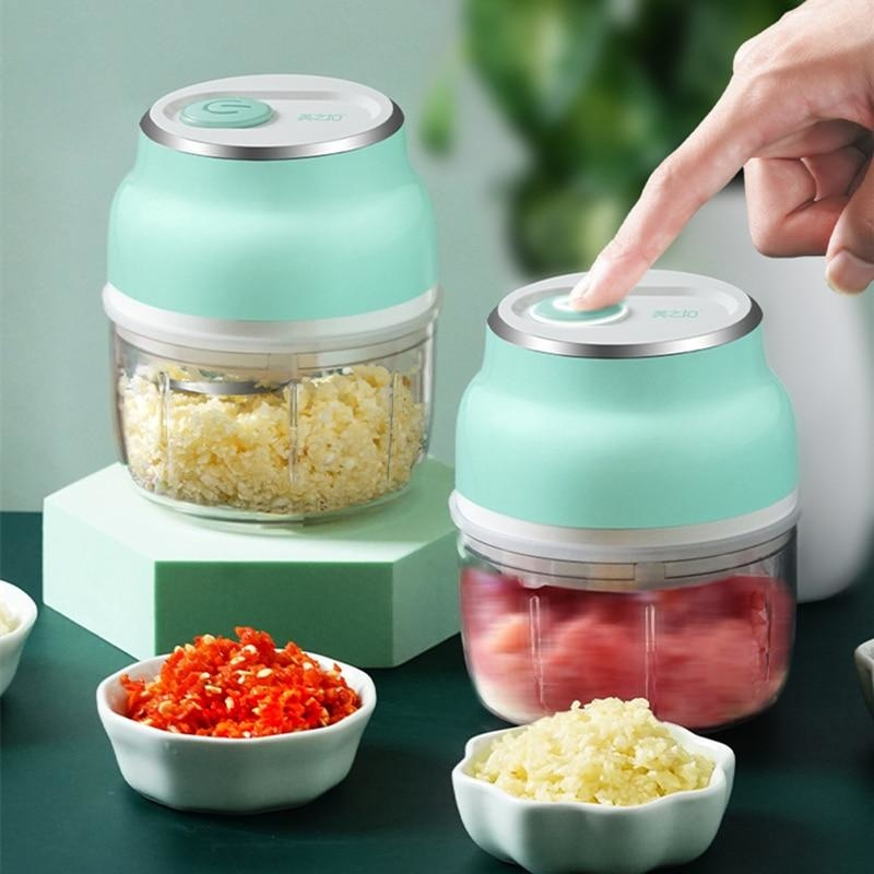 Mini Portable Food Chopper Electric
