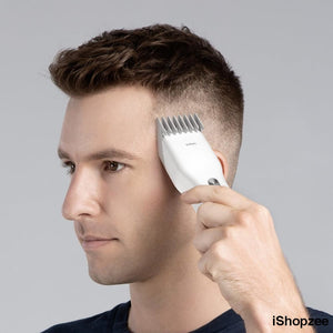 Portable Electric Hair Clipper with Ceramic Cutter - iShopzee