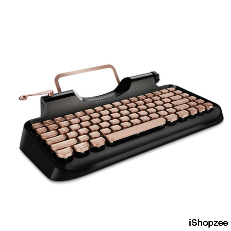Retro Mechanical Keyboard - iShopzee
