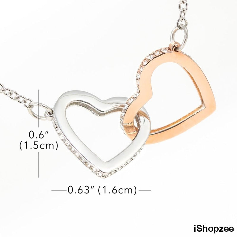 Son to best mom never ending love interlock chain - iShopzee