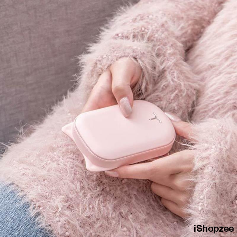 USB Rechargeable Hand Warmer and Power Bank - iShopzee