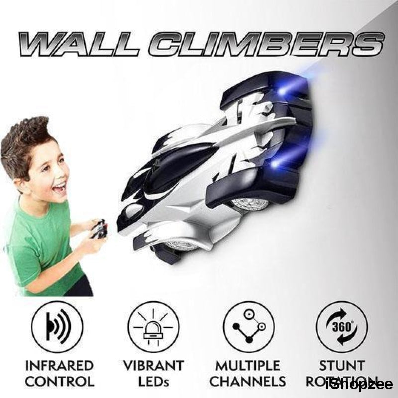 Wall Climbing RC Car with Remote - iShopzee