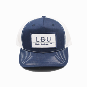 State College / Navy and White / Curved Bill