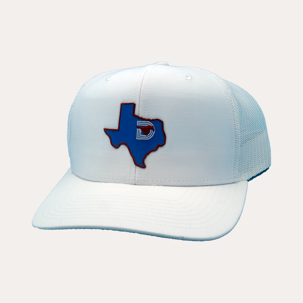 State of Texas / White - White / Curved Bill