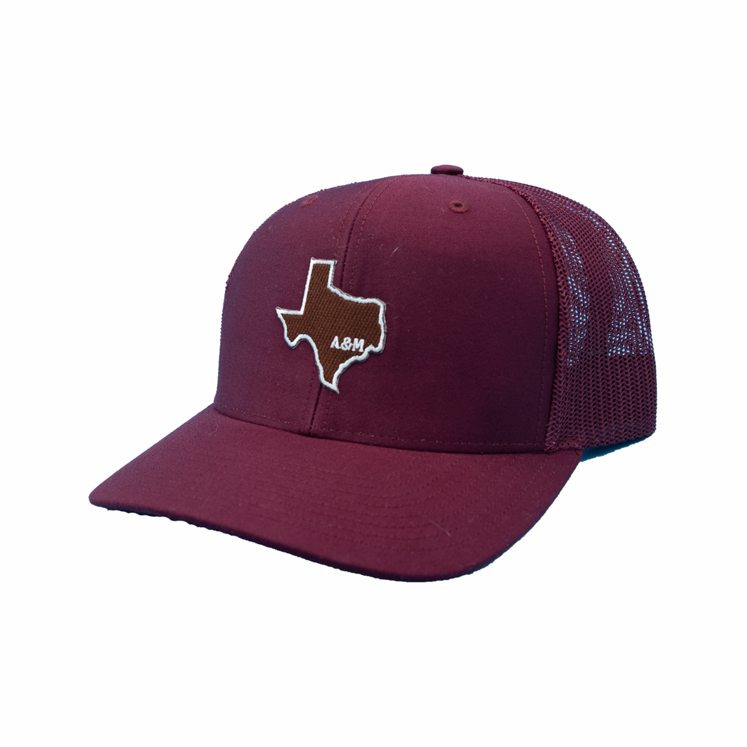 College Station / Texas / Maroon - Maroon