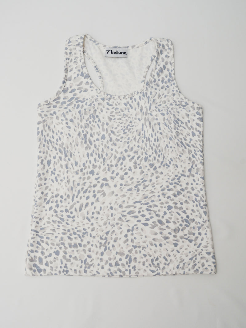 gray cheetah tops