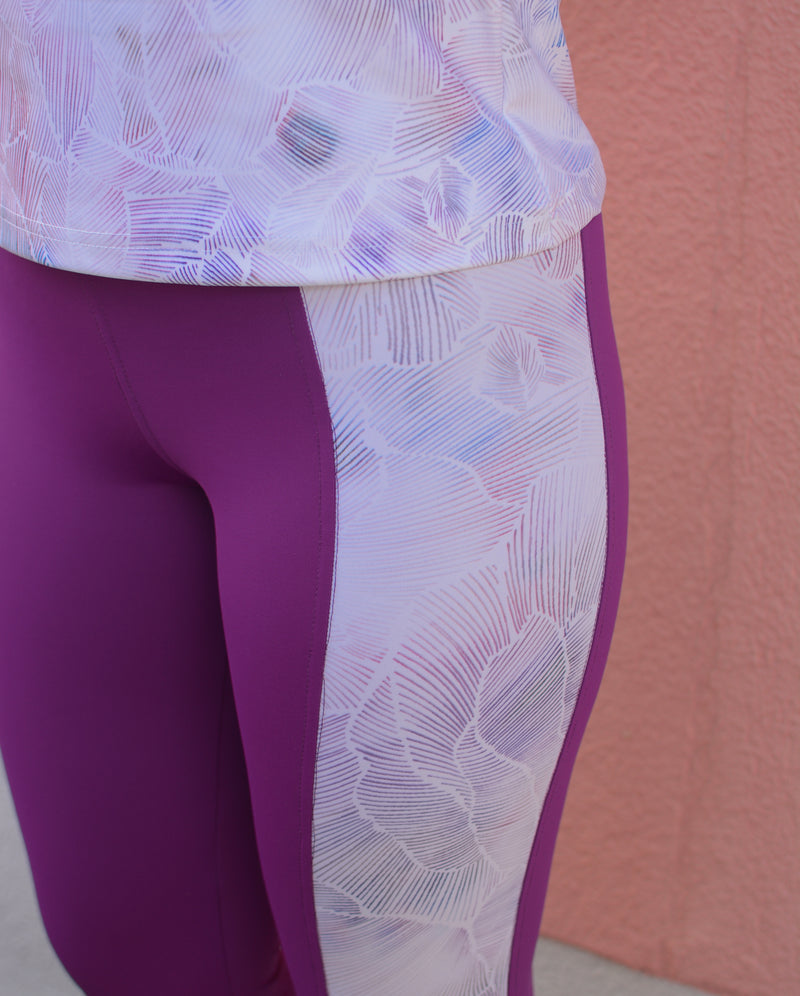 SPRING VIOLET LEGGINGS