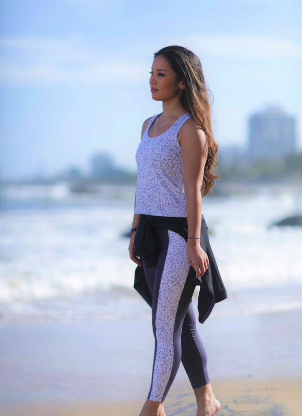 gray cheetah leggings