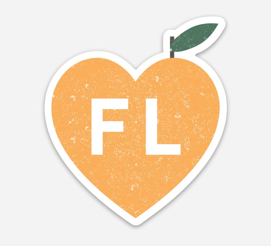 Love Florida Sticker - Eola Apparel