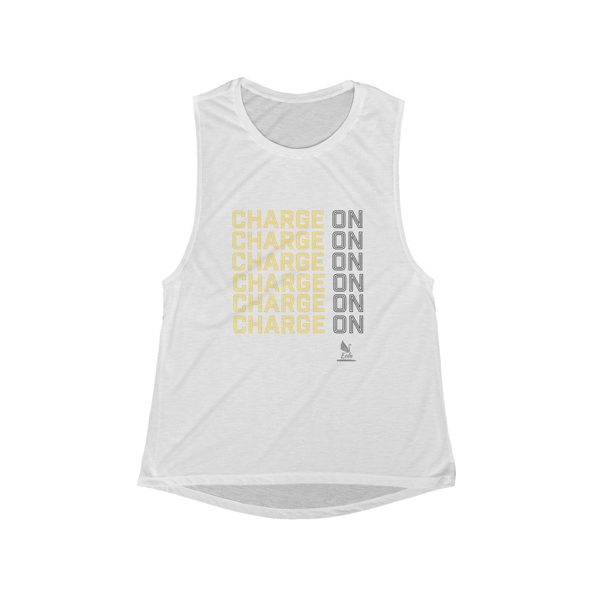 994dadae Women's Flowy Scoop Charge On Tank